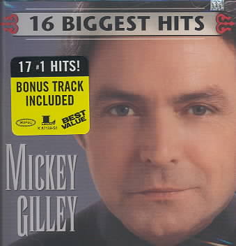 16 BIGGEST HITS BY GILLEY,MICKEY (CD)